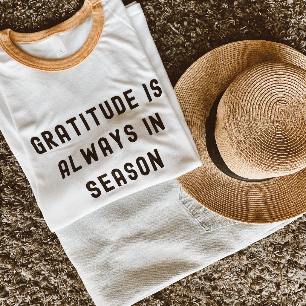 Gratitude Is Always In Season (Ringer)