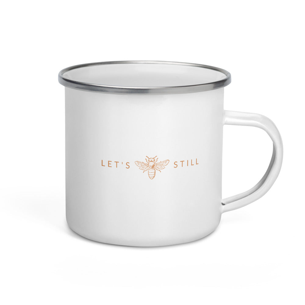 Let's Bee Still (Coffee Mug)