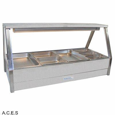 ROBAND COLD FOOD DISPLAY BARS DOUBLE ROW - 8 Pans