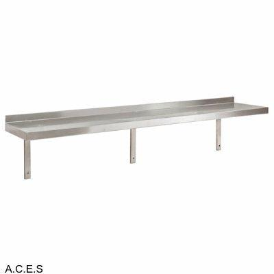 JEMI Single Tier Solid Wall Shelf - 2.0mm 1800mm wide