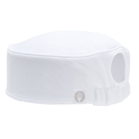 Womens White Total Vent Beanie
