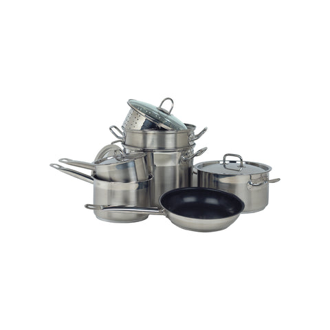 "Chef Inox COOKWARE SET-7 PIECE ""PROFESSIONAL"""