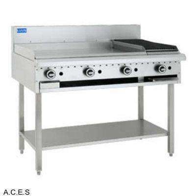 LUUS COMBINATION OF GRILL AND BARBECUE - 900 grill & 300 bbq