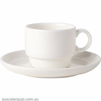 Royal Bone China COFFEE CUP-0.20lt STACKABLE ASCOT (B1013)