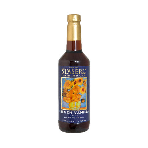 STASERO-FRENCH VANILLA SYRUP-750ml