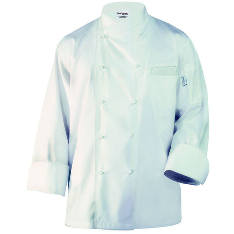 Milan Egyptian Cotton Chef Jacket