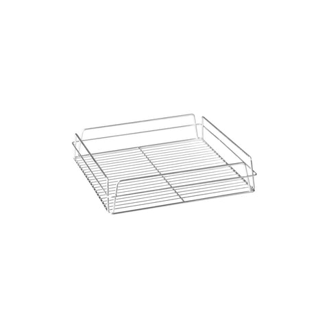 "ZINC -GLASS BASKET-SQUARE, 335x355x75mm (14x14"")"