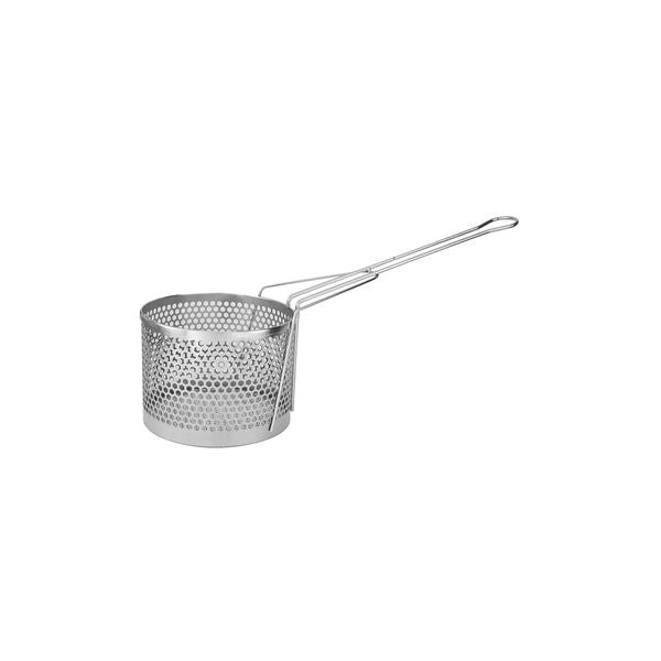 Stainless Steel-FRY BASKET-ROUND, 300x155mm