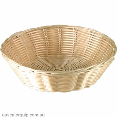 BREAD BASKET-OVAL 230mm POLYPROP