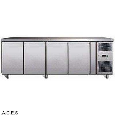 GREENLINE BENCH FREEZER 4 Door 553L