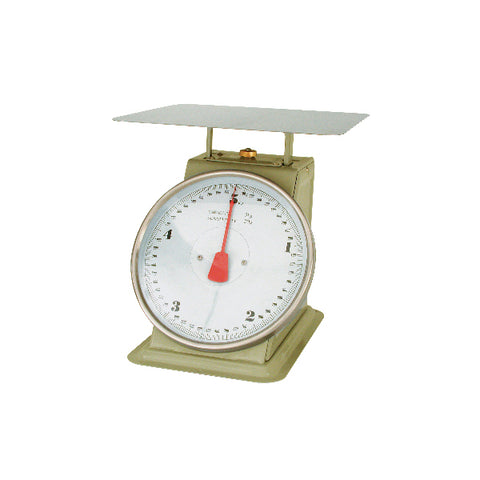 10kg x 50g-PORTION SCALE-ENAMEL BODY, W/PLATFORM