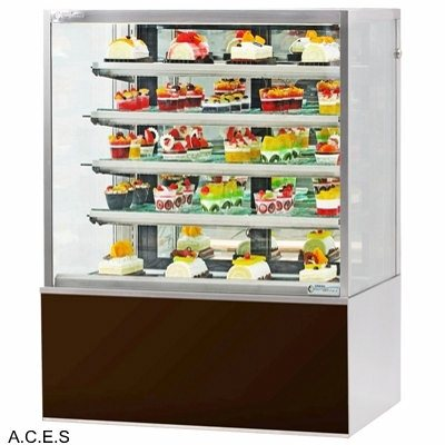 GREENLINE HEATED FOOD DISPLAY DELUXE CABINET 1000 mm wide