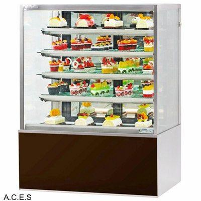 GREENLINE REFRIGERATED FOOD DISPLAY DELUXE CABINET 5 tier 1000 m