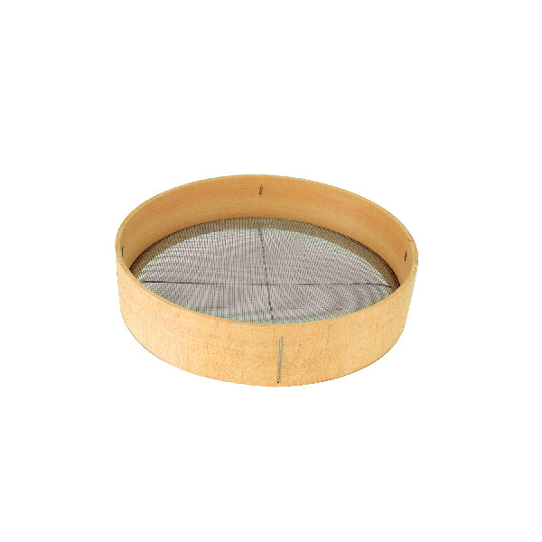 Mesh-SIEVE-WOOD RIM, 400mm
