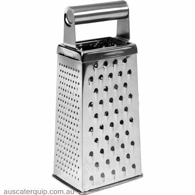 Chef Inox GRATER-S/S 4 SIDED TUBE HDL 190mm