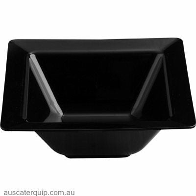 JAB SQUARE BOWL BLACK 255mm (STS0445)