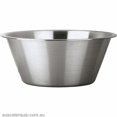 Chef Inox MIXING BOWL-S/S TAPERED-360x155mm 9.0lt