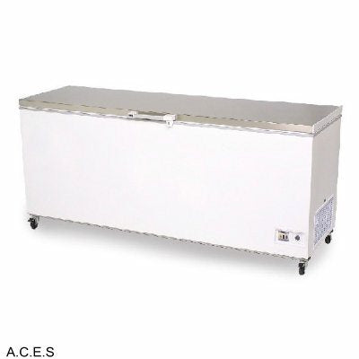 MITCHEL 550 litre flat top chest freezer