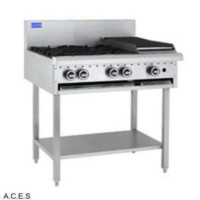 LUUS COOKTOP - OPEN BURNER & BARBECUE - 4 burners