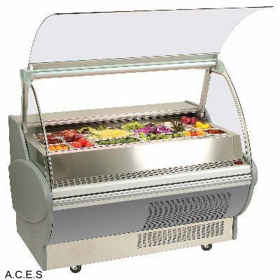WOODSON COLD BAR FRIDGE STR GLASS 3 DOOR