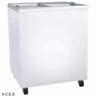 BROMIC Flat Glass Chest Freezer - 191L