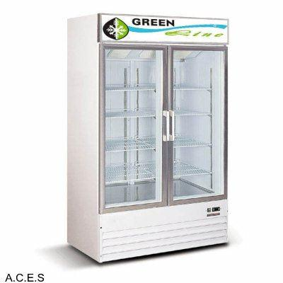 GREENLINE COLOUR BOND Display FRIDGES 2 DOOR 900L