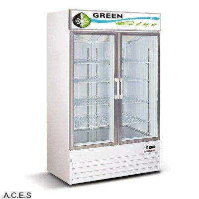GREENLINE COLOUR BOND Display FREEZERS 2 DOOR 900L