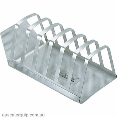 Chef Inox TOAST RACK-S/S 6-SLICE W/BASE
