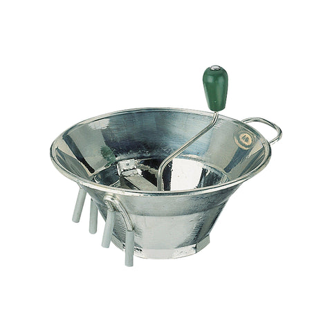 Paderno FOOD MILL-TINNED 310mm w/3 BLADES-1.5/2.5/4mm