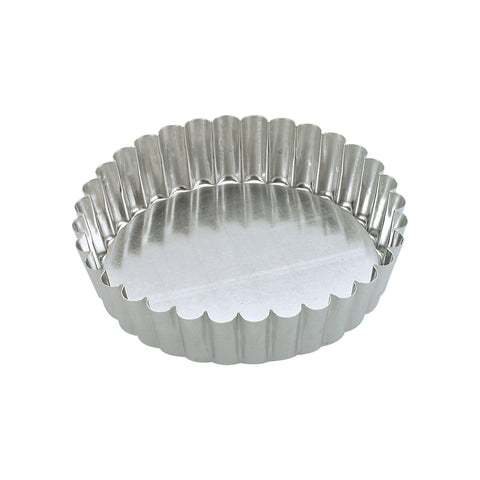 Guery CAKE PAN-ROUND FLUTED 230x45mm LOOSE BASE