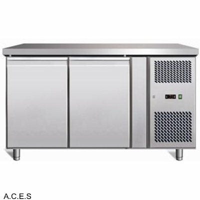 GREENLINE Bench Refrigeration 700 Deep (2 Solid Doors)
