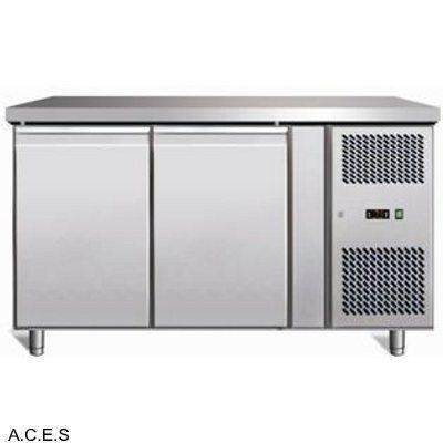 GREENLINE BENCH FREEZER 2 Door 282L