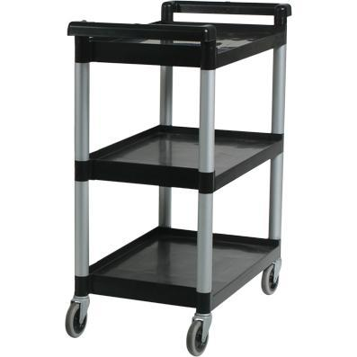 Unica TROLLEY-3 TIER BLACK LARGE  890x540x940mm