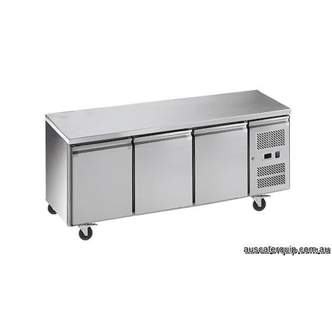 EXQUISITE Snack SizeUnder Bench Freezer with Solid Doors 386L