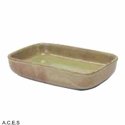 tablekraft ARTISTICA RECTANGULAR DISH 170x105x40mm FLAME