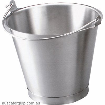 BUCKET-18/8 13.0lt W/BASE