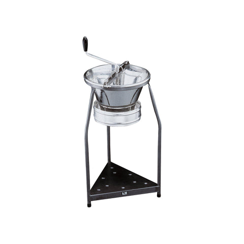 Paderno FOOD MILL-TINNED 390mm w/3mm BLADE&800mm STAND
