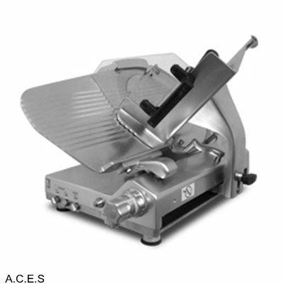 Brice Semi Automatic 350mm Gear Driven Slicer optioned