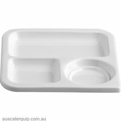 JAB SQUARE TRAY 3 DIVISION 175x175mm (STS0898)