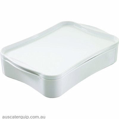 Revol REVOL COOK & PLAY RECTANGLE DISH W/COVER 340x250x88mm
