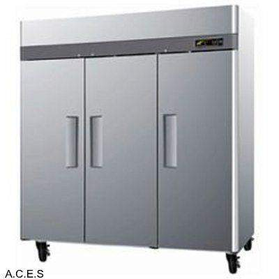 GREENLINE Solid Door FREEZER  3 DOOR 1900L