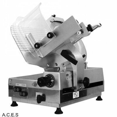 Brice Semi Automatic 350mm Gear Driven Flat Feed Slicer