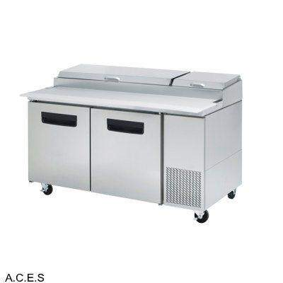 GREENLINE PIZZA PREPARATION REFRIGERATION 2 Door