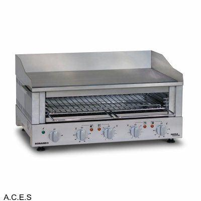 ROBAND  700 mm wide GRIDDLE TOASTERS