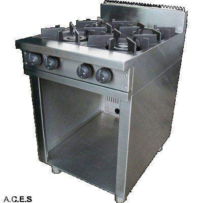 SHEFFIELD 4 BURNER BOILING TABLE