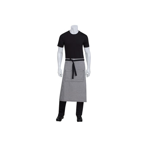 Portland Black Denim 3/4 Apron