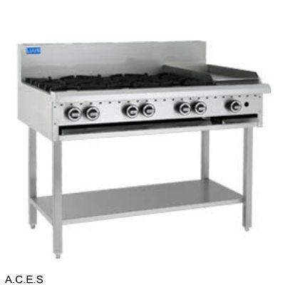 LUUS COOKTOP - OPEN BURNER & BARBECUE - 6 burners