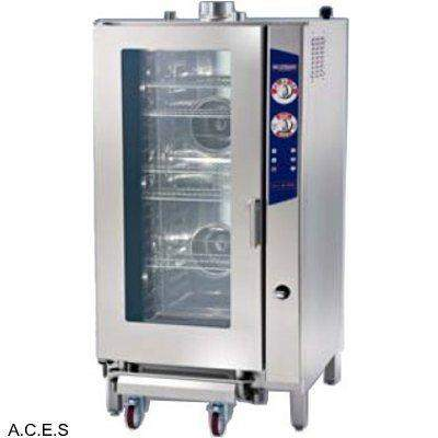 LAVA COMPACT DIRECT STEAM COMBI OVEN ANALOGUE 20 TRAYS 1/2 GN