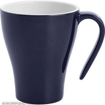 JAB GELATO- NAVY BLUE/WHT COFFEE MUG STACK 350ml (STS0124)