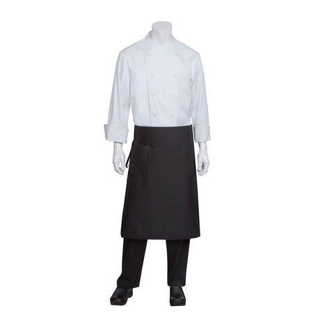 Black Tapered Apron w/ Flap